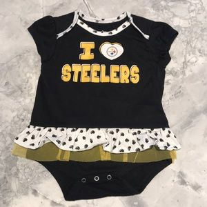 Other - Steeler girls onesie. 18 months